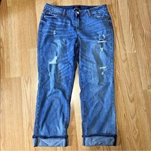 Earl Jeans Jeans - Earl Sz 14 Jeans straight cuff distressed holes